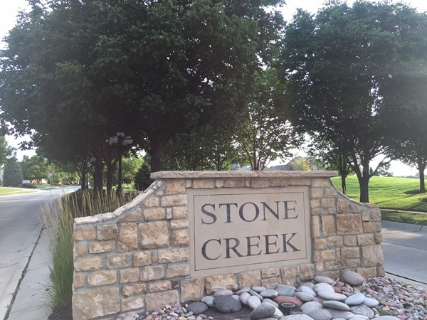 Fort Street entrance to Stone Creek