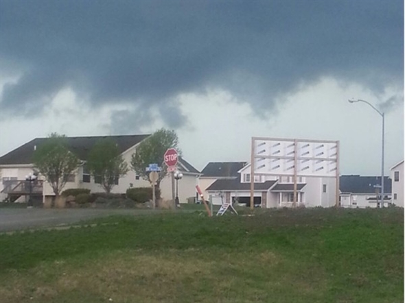 Storm coming to Ankeny, Rock Creek Crossing Subdivision