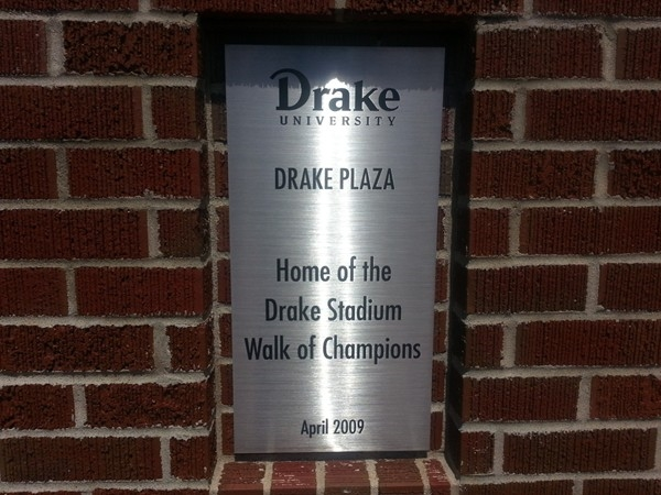 Drake Stadium is a great facility