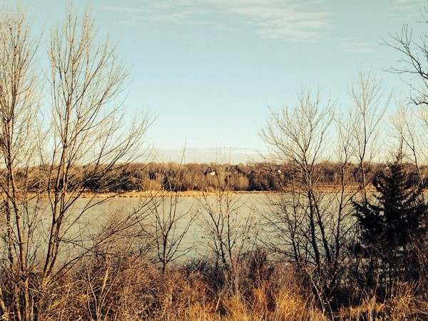 Beautiful view of Lake Zorinsky