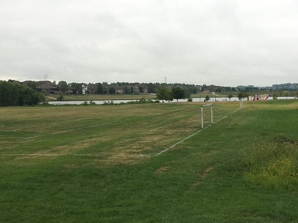Catch a scheduled soccer game or LaCrosse practice at the field adjacent to Whitehawk Park and Lake