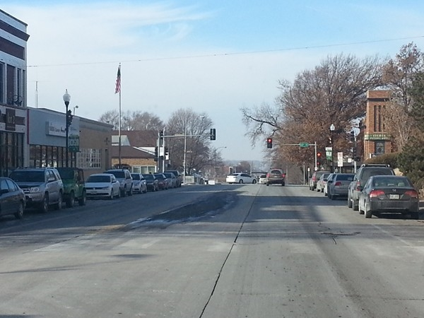 The Benson area shopping district