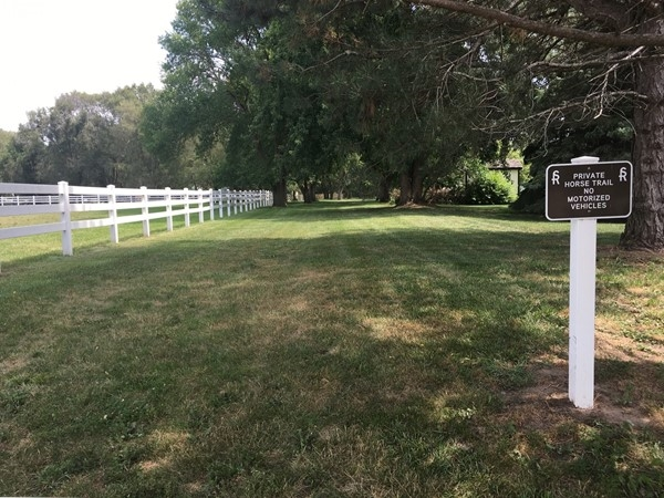 Horse trail in Skyline Ranches, perfect for a horse ride or walk with your dog