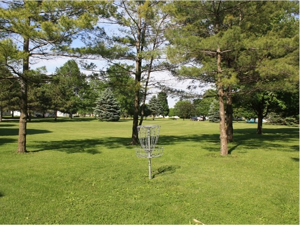 Parker-Muncey offers a six hole disc golf course