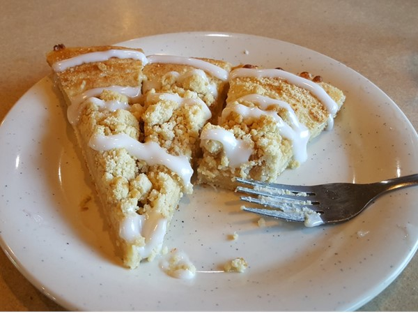 Yum! Dessert Pizza at Pizza Ranch in Waverly