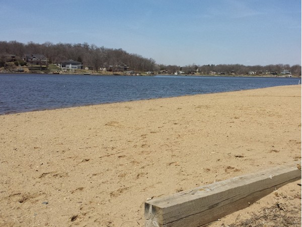 Boulder Beach is one of three beaches on the lake available for member use.