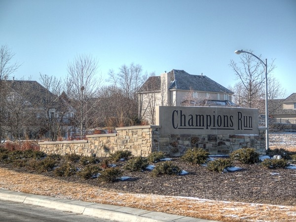 132nd Street entrance to Champions Run
