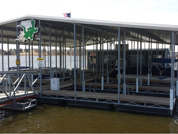 We are fortunate to have such a great full service marina.The gas dock makes refueling  convenient.