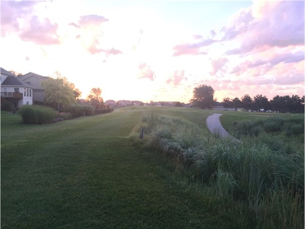 Sunrise over the Stone Creek Golf Course