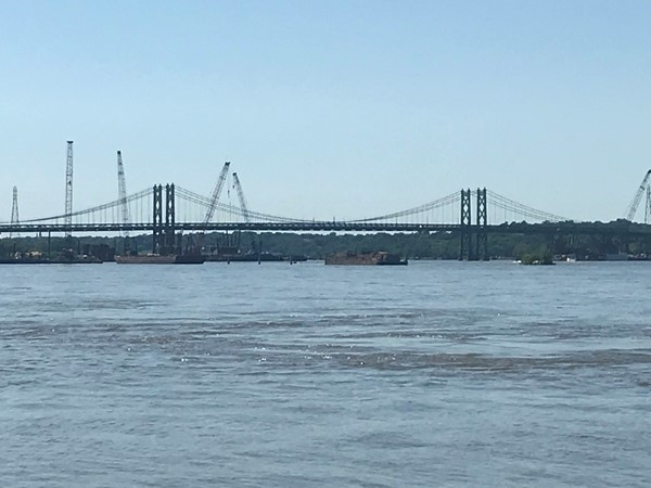 Walking along the Mississippi