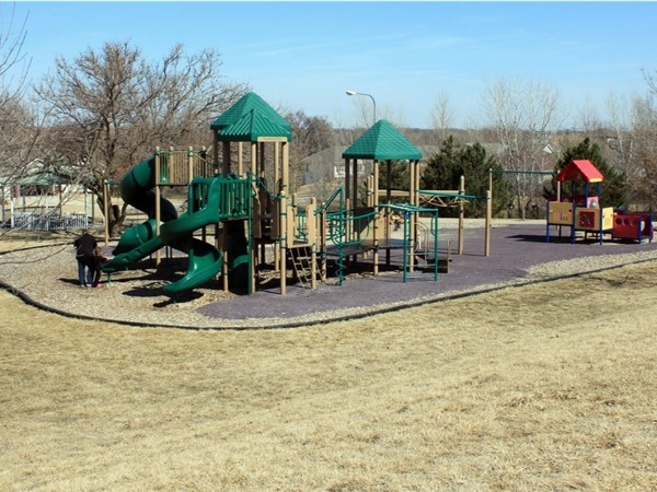 Millard Park South  My kids love this park!  High slides, monkey bars and plenty of room to run