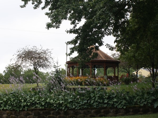 View of the gazebo at Heritage Park