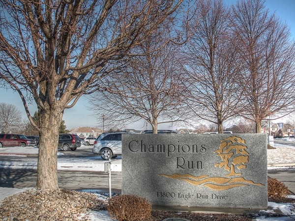 Entrance to Champions Run Club House