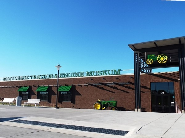 John Deere Tractor & Engine Museum opens December 2, 2014, offering a unique insight to visitors.