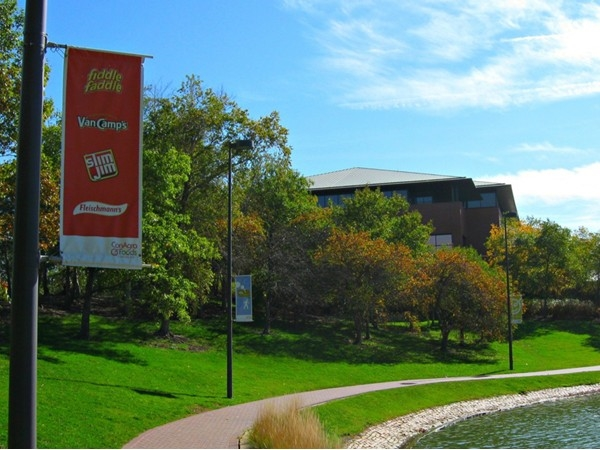 Heartland of America Park on Conagra Foods campus in downtown
