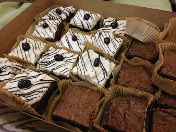 Delicious brownies and other homemade treats, custom ordered at Rach's Kitchen