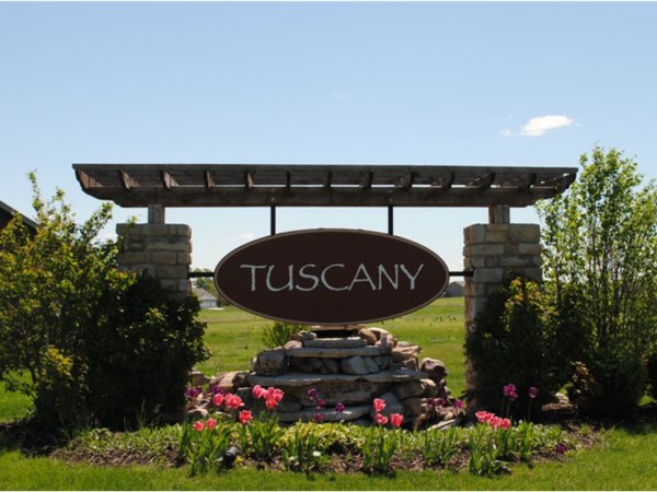 Tuscany subdivision on the east side of Altoona