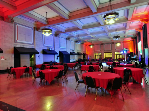 Lincoln Station Great Hall, available for large events...