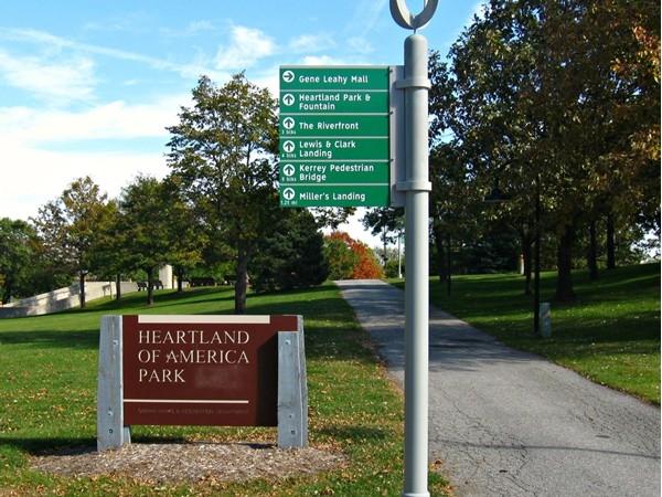 Heartland of America Park an Fountain