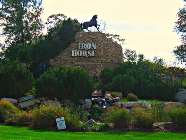 Entrance to Iron Horse Subdivision
