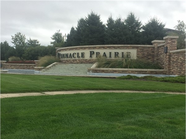 Pinnacle Prairie development features residential, services and commercial locations