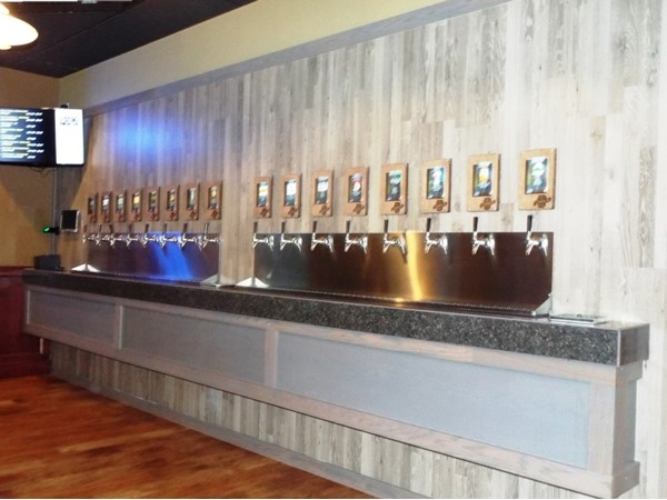 A Beer Lovers Dream!  Beck's Taproom Grill (3295 University Ave., Waterloo), 35 Draft Beers on Tap!