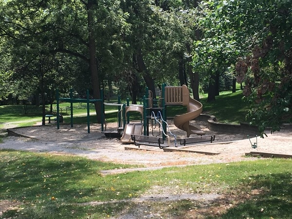 Great playground in Chapel Hill Park