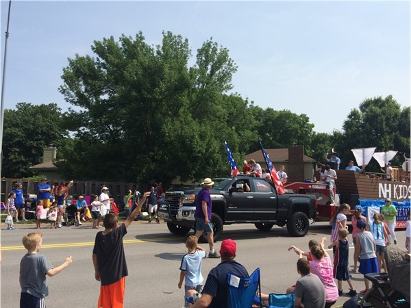 Urbandale 4th of July parade 2015. Great event