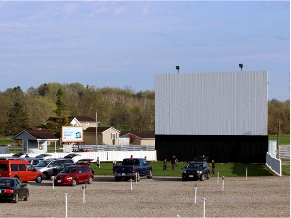 Valle Drive-In, located in Newton, is one of only five left in the state