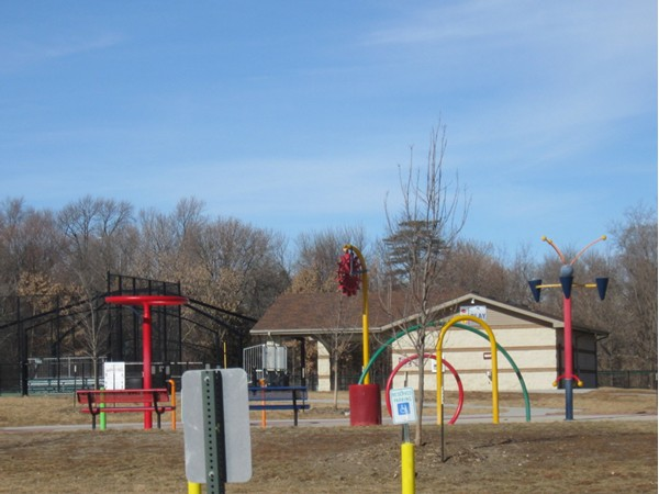 All Play Complex at Seymour Smith Park in La Vista