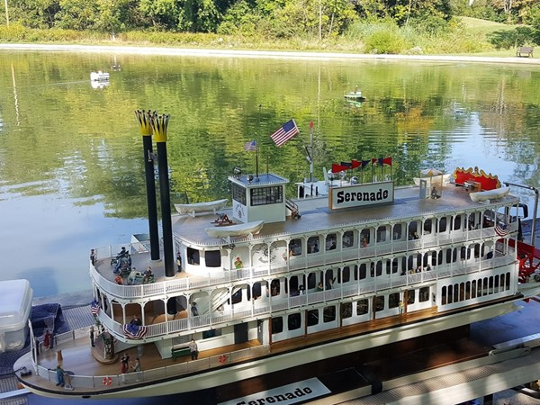 Mississippi Bend Model Boat Club meets every Saturday at Middle Park Lagoon Pond, weather permitting
