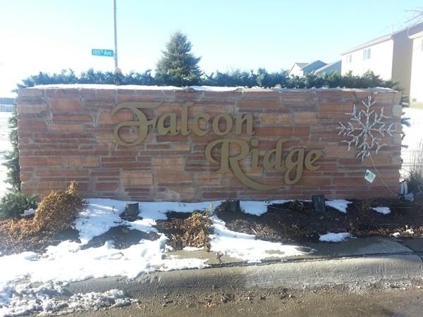 Falcon Ridge neighborhood
