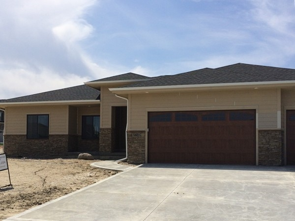 New construction in Glynmor Development located in Urbandale