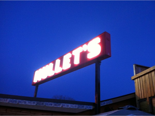 Mullets is located at 1300 SE 1st, near downtown. Love it! You have to check this place out