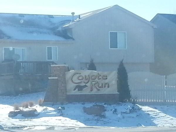Coyote Run entrance