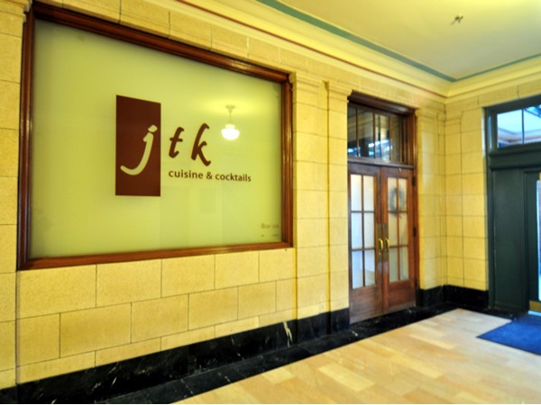 JTK restaurant, located in the Lincoln Station Building, 7th and P streets.