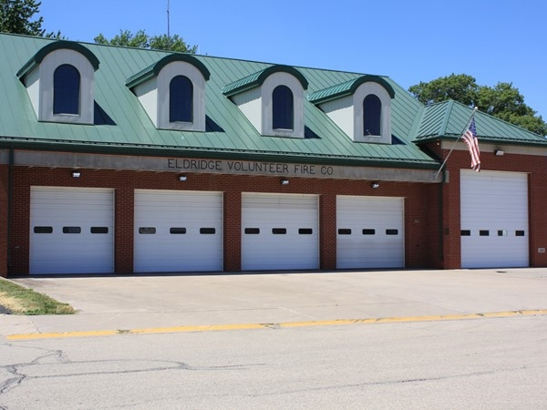 This 21,750 square foot building consists of all volunteer firefighters