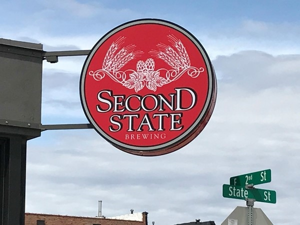 Second State Brewing Company, located at 203 State Street in Cedar Falls