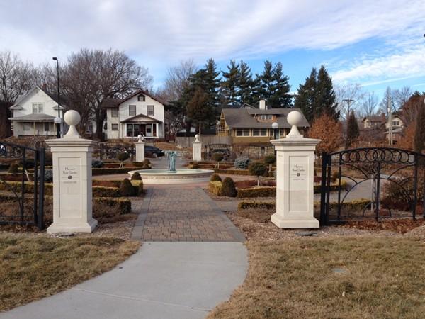 Hamann Rose Garden, Antelope Park, Lincoln, Nebraska