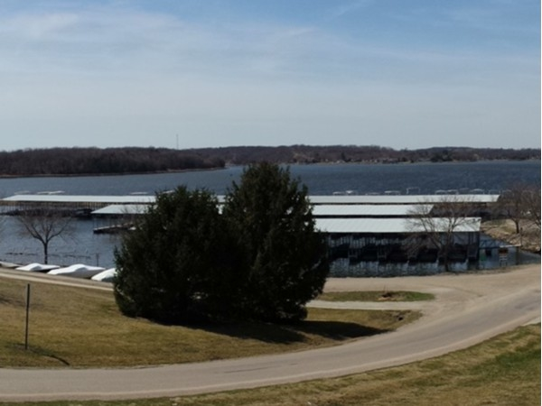 East Lake Panorama:  main basin and marina