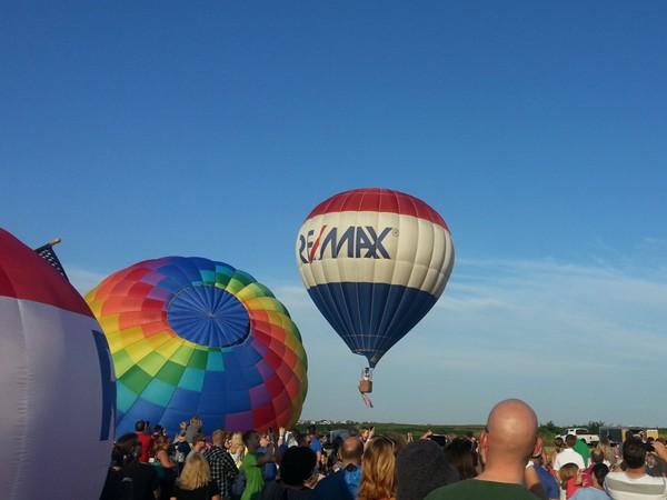 Nebraska Balloon Wine & Balloon Festival
