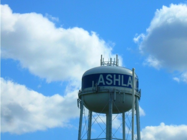 Ashland water tower