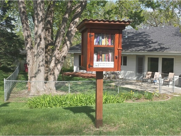 Little Free Library located at 849 Lyncrest Drive, Lincoln, NE