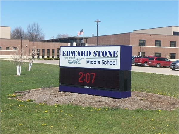 We love Edward Stone Middle School in Burlington