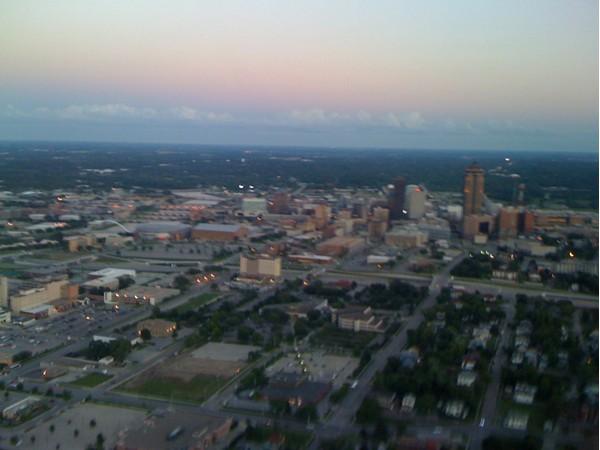 Downtown Des Moines Skyline
