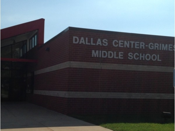 Dallas Center-Grimes Middle School is for grades six through seven