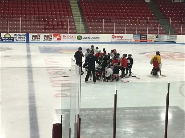 Waterloo Junior Hawks Hockey