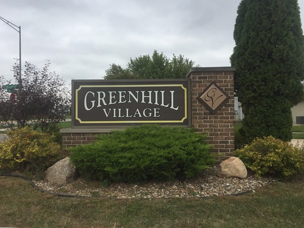 Greenhill Village is a subdivision in Southwest Cedar Falls