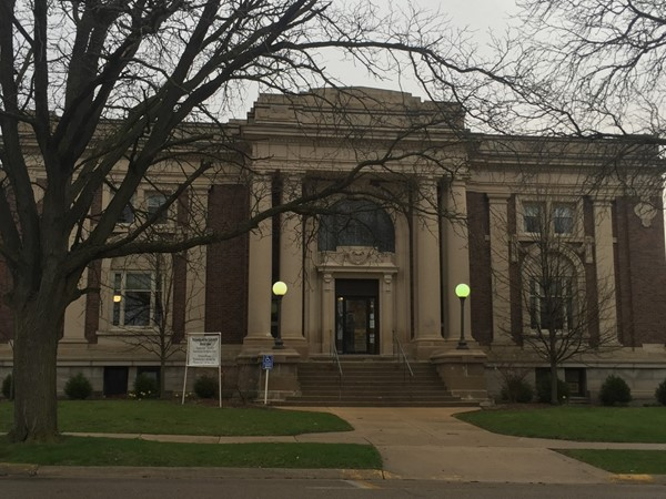 Kewanee Public Library has some beautiful architecture