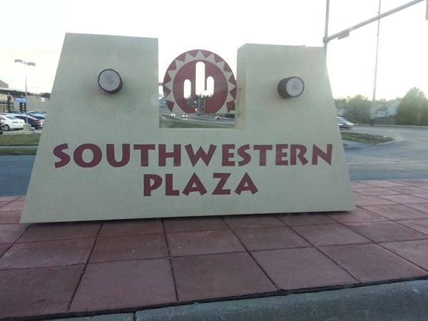Southwestern Plaza shopping center in Millard